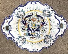Deruta Pottery-12x15inchOval Centerpiece-Ricco Deruta Made/Painted by hand Italy