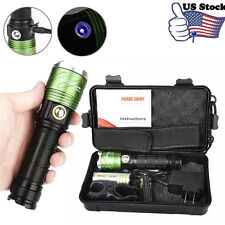 Scuba Diving Underwater 500M 6000LM Flashlight  Zoomable Rechargeable Torch UK
