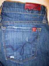 Blue 2 Made in California Jeans Stretch Flare Leg Size 26 x 30 Dark Wash USA
