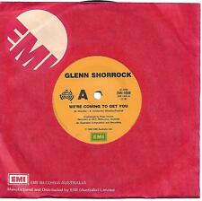 Glenn Shorrock We're Coming To Get You 45 record Bruce Woodley comp (1983)