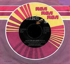 """RONNIE MILSAP """"BACK ON MY FEET AGAIN/Santa Barbara"""" RCA PB-11421 (1978) 45rpm"""