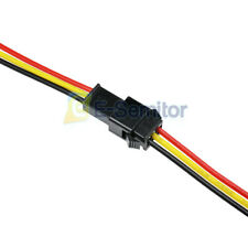 10Pairs Sm 3Pins 3mm Jst Male to Female Plug 15cm Long Wire Cable Connector