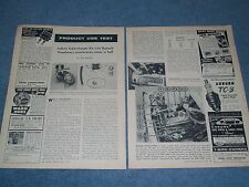 1958 Renault Dauphine Judson Supercharger Install Info Article