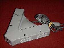 Mad CAatz PlayStation (PS1) Multitap Adaptor Gray - Tested Working