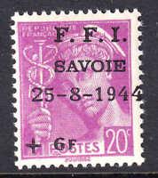 FRANCE 359 LOCAL CHEMBERY LIBERATION OVERPRINT OG NH U/M F/VF