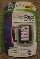 NEW LeapPad 1, or 2 LeapFrog Green Gel Skin Tablet Accessory Leap Pad