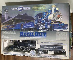 Bachmann 90016 Royal Blue G Gauge Steam Train Set