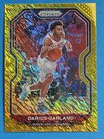 2020-21 Panini Prizm Basketball NBA Darius Garland Gold Shimmer Prizm /10
