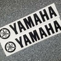 Yamaha BLACK 23in 58cm decal sticker decals yfz yz big keyboard trailer size xj