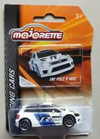Majorette VOLKSWAGEN VW POLO R WRC White diecast model car Racing CARS series