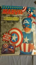 Captain America Accessory Playset MARVEL Super Heroes Toy Biz dress up roleplay^