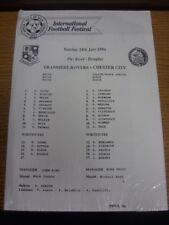 24/07/1994 Isle Of Man Festival: Tranmere Rovers v Chester City [At The Bowl, Do