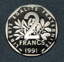 2 FRANCS SEMEUSE 1991 DU COFFRET BE