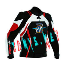 MV AGUSTA CORSE BRAND NEW MOTORCYCLE MOTORBIKE RACING LEATHER JACKET