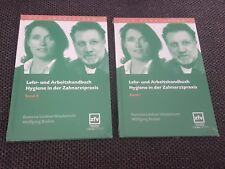 Lehr- und Arbeitshandbuch Hygiene in der Zahnarztpraxis Band 1 + 2 l ll Lehrbuch