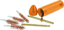 New Hoppes Deluxe Pistol Cleaning Kit Compact .45,40,357,22 Brass Rod Pki