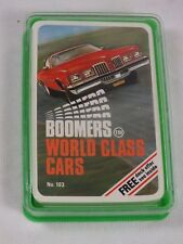 Top Trumps - Boomers World Class Cars - Complete - 1970's Dubreq