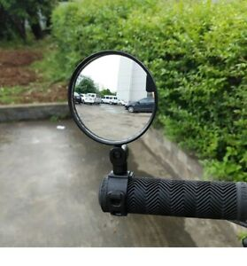 360° Rotate Bike Bicycle Cycling Side Rear View Handlebar Best Rearview Mirror