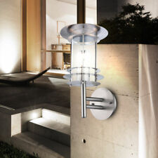 Design LED Outdoor Lamp Terrace Courtyard Stainless Steel Wall Light D 20 CM E27