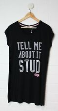 PETER ALEXANDER Black Nightie Sleepshirt GREASE collection Size XS Size 8