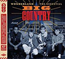 BIG COUNTRY 'WONDERLAND : THE ESSENTIAL' (Best Of) 3 CD SET (2017)