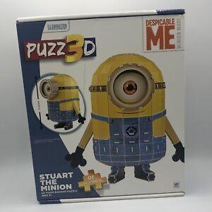 Puzz 3D Stuart Minion Despicable Me Minion Toy Puzzle Building Toys NEW OPEN BOX