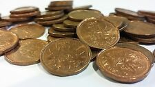 FULL ROLL 1993 CANADA ONE CENT PENNIES CIRCULATED