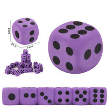 Jumbo Specialty Giant EVA Foam Playing Dice Block Party Kids Toy Game Prize Gift