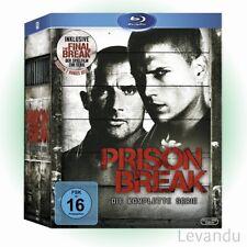 Blu-ray Box PRISON BREAK - DIE KOMPLETTE SERIE + THE FINAL BREAK - 24 Disc's NEU