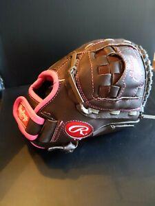 "RAWLINGS FP110 11""  Girl FastPitch Softball Baseball Glove Mitt RgtHandThrow"