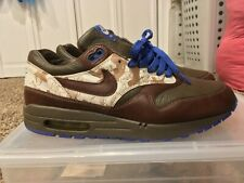 newest 10e1b 47b6f Nike Air Max 1 Truque Pack Chocolate 309740-221 Size 9 Atmos Patta VNDS