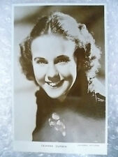 Real Photo Postcard- DEANNA DURBIN, Canadian born American actress and singer