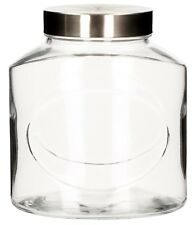 Elipse Glass Jar Lt1.5 Jars Food Storage Containers