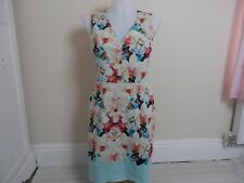 Oasis Floral summer occasion dress size 8
