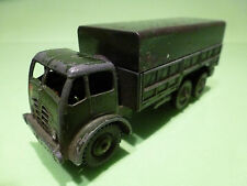 DINKY TOYS FODEN 10-TON ARMY TRUCK - ARMY GREEN 1:50? - GOOD - MILITARY