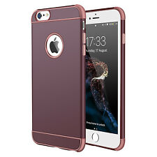 For iPhone X 6 6s 7 Plus Ultra Thin Luxury Rubber Silicone Soft TPU Case Cover
