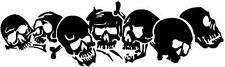 SKULLS,BOYS, CAR DECAL STICKER
