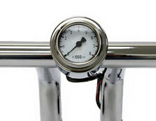 Mini Tachometer with Handlebar Mount 48mm Bullet Style Fits 1 Inch Bars 1""
