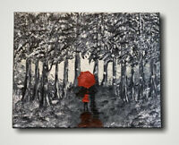 Original Abstract Acrylic Painting On Canvas 11x14, Modern Art, Contemporary Art