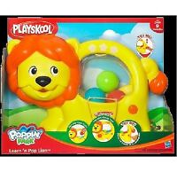 PLAYSKOOL POPPIN' PARK LEARN 'N POP LION ** GREAT GIFT **