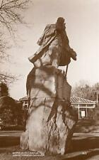 Writer Victor Hugo Statue Candie Gardens Guernsey unused RP old pc Norman Grut