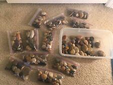 Massage Stones Natural Polished Hot Chakra Spa Massage Therapy Rocks Shiny Decor
