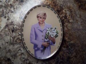 105 Princess Diana Plate Queen of our Hearts Our Adored Princess COA
