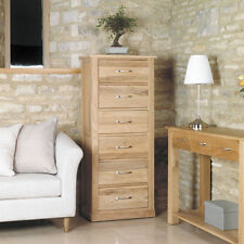 Oak More than 200cm Width Contemporary Chests of Drawers