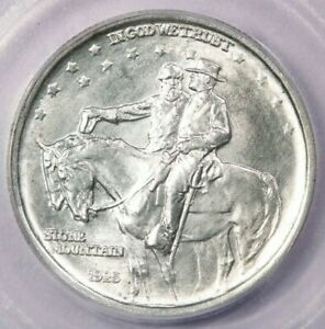 1925-P 1925 Stone Mountain Commemorative Half Dollar ICG MS60 details