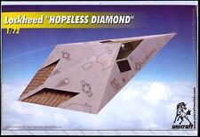 Unicraft Models 1/72 LOCKHEED HOPELESS DIAMOND Stealth Aircraft