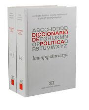 DICCIONARIO DE POLITICA. 2 VOLS., POR: NORBERTO BOBBIO