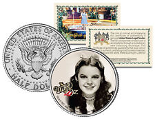 Wizard of Oz * JUDY GARLAND * Colorized JFK Kennedy Half Dollar US Coin LICENSED