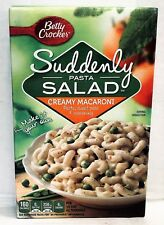 Betty Crocker Suddenly Pasta Salad Creamy Macaroni 6.5 oz