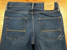 ABERCROMBIE BAXTER LOW RISE SLIM BOOTJEANS ACTUAL 32 x 31 Tag 28 x 30 BEST F8